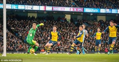 TRỰC TIẾP Man City - Arsenal: Giroud lập công (KT) - 6