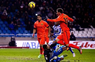 TRỰC TIẾP Deportivo - Barca: Messi lập hat-trick (KT) - 4