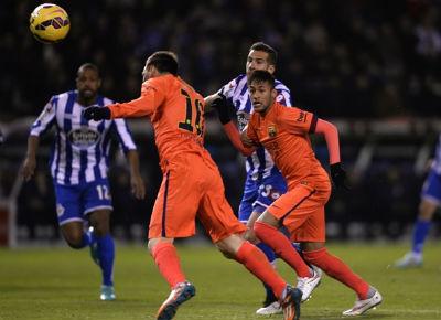 TRỰC TIẾP Deportivo - Barca: Messi lập hat-trick (KT) - 3