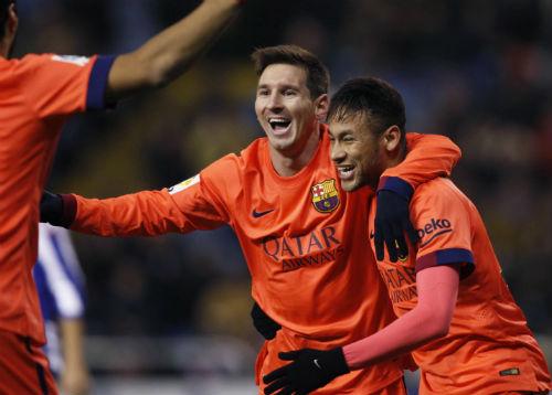 Ca ngợi Messi, Enrique xóa tan tin đồn mâu thuẫn - 1