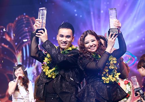 Dương Hoàng Yến, Hà Duy đăng quang Cặp đôi hoàn hảo - 1