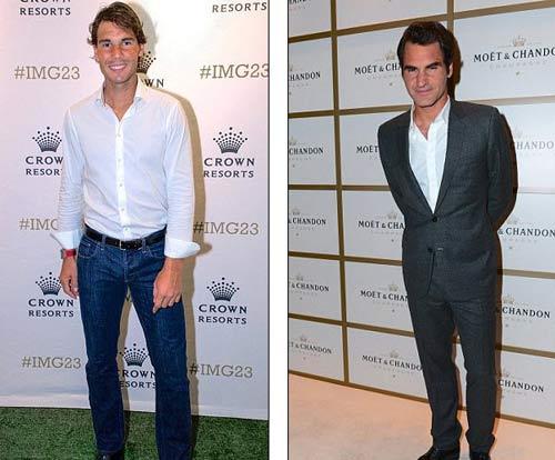 Federer đầy lịch lãm, Bouchard khoe dáng ngọc - 1