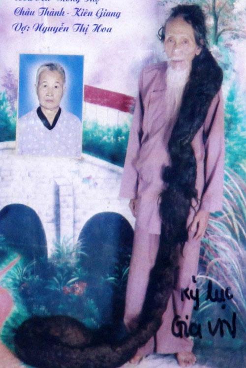 """Những """"dị nhân"""" Việt có mái tóc kỳ lạ - 1"""