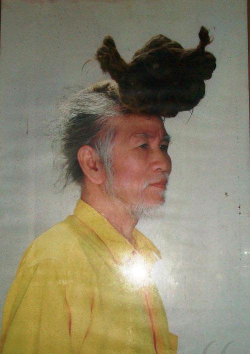 """Những """"dị nhân"""" Việt có mái tóc kỳ lạ - 6"""