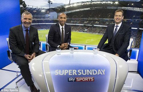 """Henry """"dìm hàng"""" Arsenal bất thành trên truyền hình - 1"""