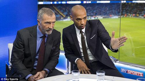 """Henry """"dìm hàng"""" Arsenal bất thành trên truyền hình - 2"""