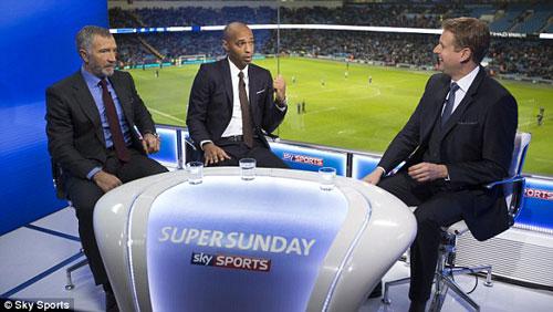 """Henry """"dìm hàng"""" Arsenal bất thành trên truyền hình - 3"""