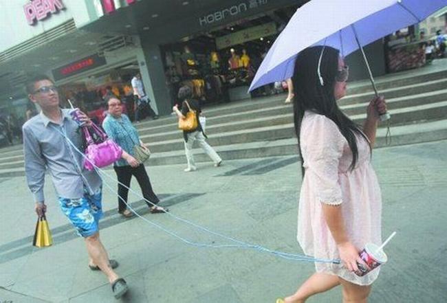 Hình ảnh hài hước của giới trẻ Trung Quốc - 1