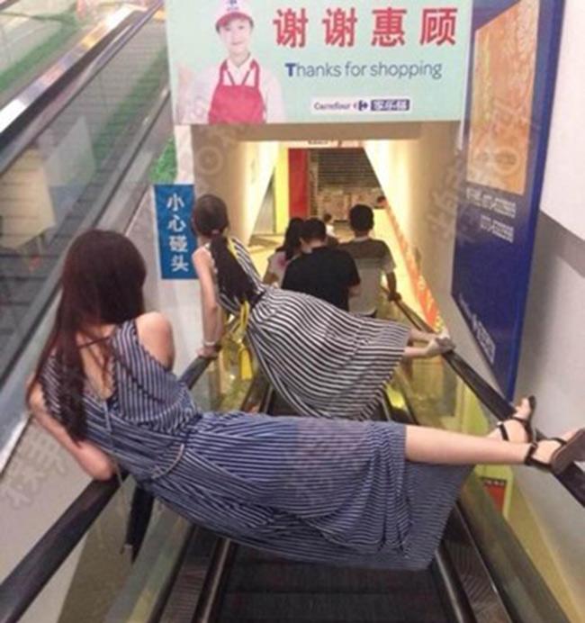 Hình ảnh hài hước của giới trẻ Trung Quốc - 6