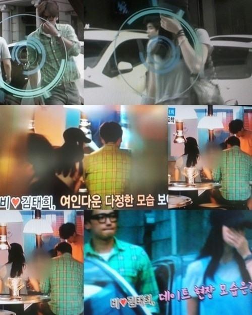 Kim Tae Hee bí mật hẹn hò Bi Rain ở Trung Quốc - 2