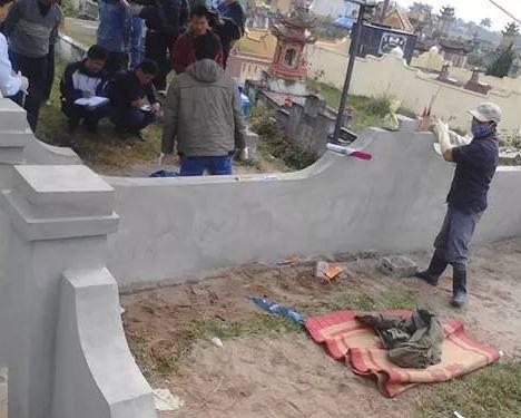 Phát hiện thi thể người đàn ông giữa nghĩa trang - 1