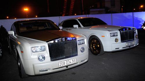 """Cặp đôi Rolls-Royce Phantom biển """"khủng"""", mạ vàng tại Hà Nội - 1"""