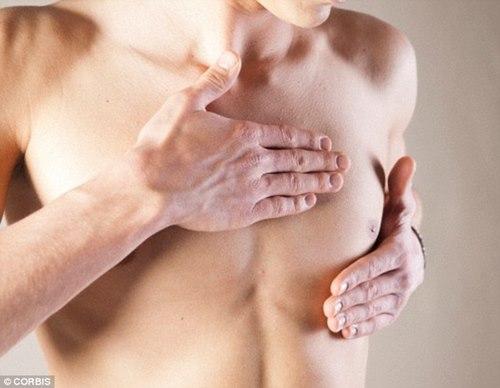 Chàng trai 16 tuổi ngực tiết ra sữa - 1