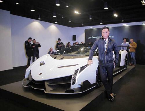 Lamborghini Veneno Roadster đến Hồng Kông - 1