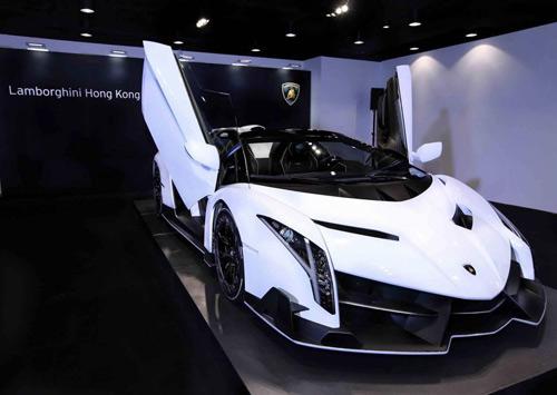 Lamborghini Veneno Roadster đến Hồng Kông - 3
