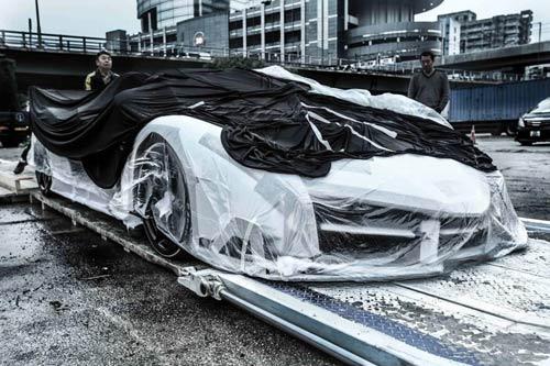 Lamborghini Veneno Roadster đến Hồng Kông - 6