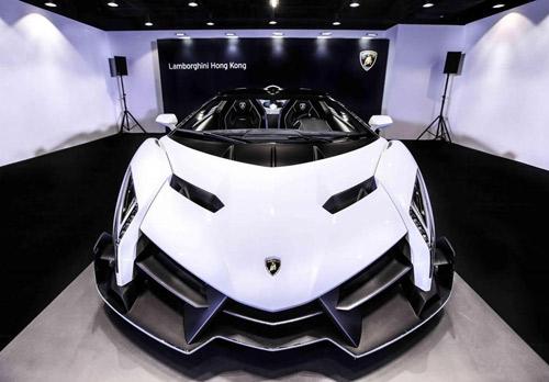 Lamborghini Veneno Roadster đến Hồng Kông - 5