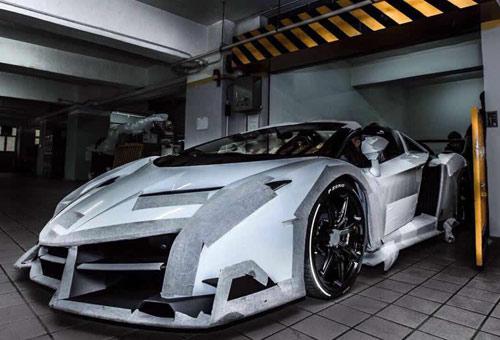 Lamborghini Veneno Roadster đến Hồng Kông - 4