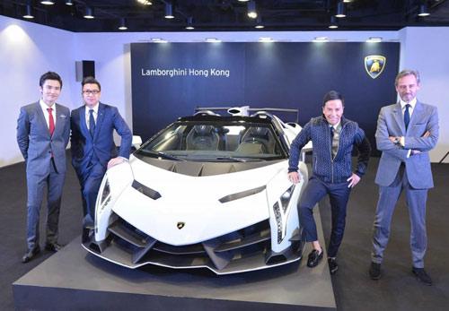 Lamborghini Veneno Roadster đến Hồng Kông - 10