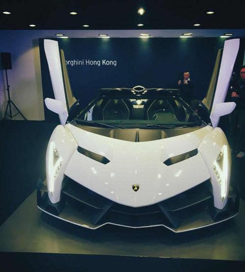 Lamborghini Veneno Roadster đến Hồng Kông - 13