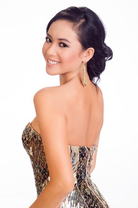 Chấm điểm 9 nhan sắc Á tại Hoa hậu Hoàn vũ 2015 - 5