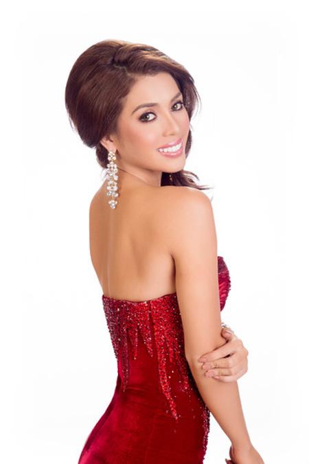 Chấm điểm 9 nhan sắc Á tại Hoa hậu Hoàn vũ 2015 - 15