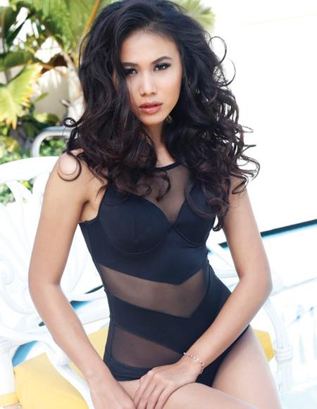 Chấm điểm 9 nhan sắc Á tại Hoa hậu Hoàn vũ 2015 - 12