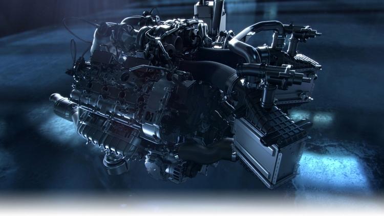 Mercedes thay động cơ mới thách thức Nissan GTR - 7