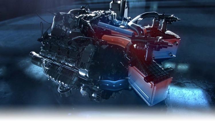 Mercedes thay động cơ mới thách thức Nissan GTR - 8