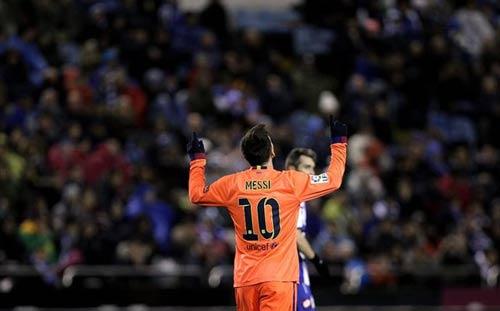 "Messi mới là ""Vua hattrick"" - 1"