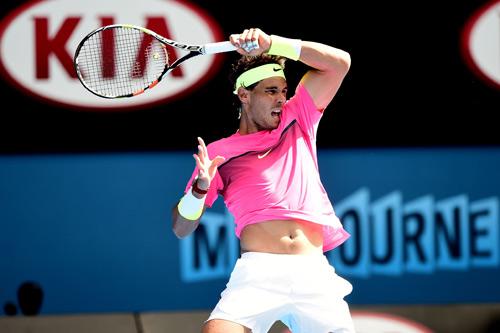 Hot shot: Federer, Nadal thi nhau lập ''siêu phẩm'' - 2