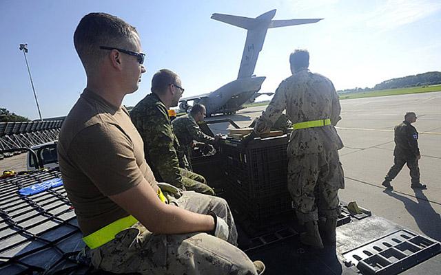 Đặc nhiệm Canada đấu súng với chiến binh Nhà nước Hồi giáo - 1