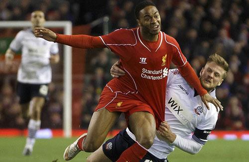 Liverpool - Bolton: Thế trận giằng co