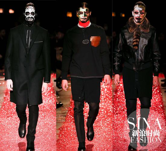 """Thời trang u ám """"phủ bóng"""" sàn catwalk Paris - 1"""
