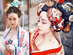 Thiếu nữ Hà thành tạo hình Võ Tắc Thiên tuyệt đẹp