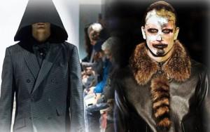 """Thời trang u ám """"phủ bóng"""" sàn catwalk Paris"""