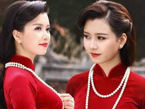 MC Hương Giang hóa thân thành thiếu nữ Hà Nội đài các
