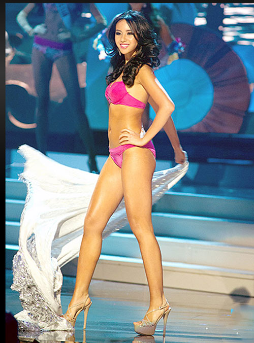 Vẻ sexy của 15 cô gái đẹp nhất hoa hậu hoàn vũ