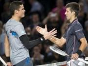 """Australian Open ngày 10: Nole giải mã """"máy giao bóng"""""""