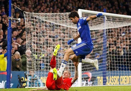 Đá xấu Liverpool, Diego Costa sẽ bị treo giò 3 trận - 3