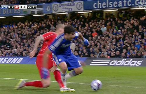 Đá xấu Liverpool, Diego Costa sẽ bị treo giò 3 trận - 2