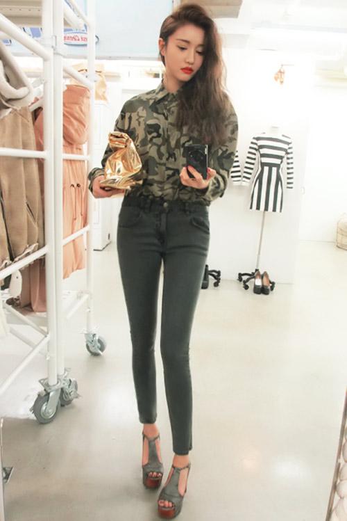 Mách khéo cách mặc đẹp với đồ rằn ri - 2