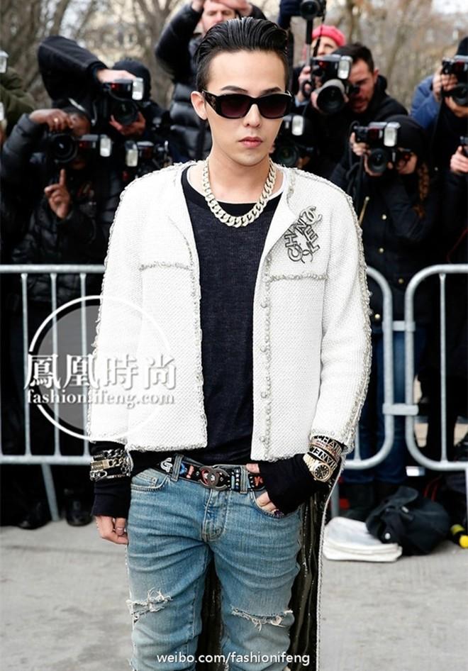 G-Dragon cực ngầu ở tuần lễ thời trang cao cấp Paris - 1