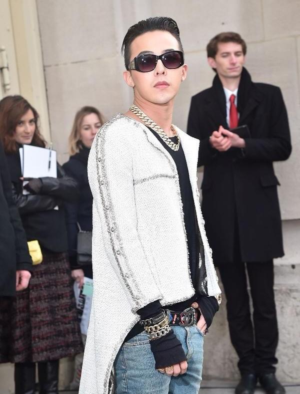 G-Dragon cực ngầu ở tuần lễ thời trang cao cấp Paris - 2