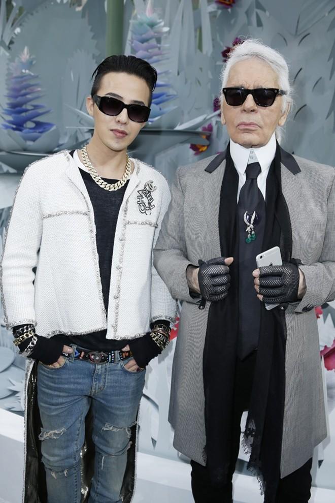 G-Dragon cực ngầu ở tuần lễ thời trang cao cấp Paris - 4
