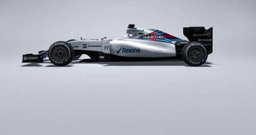 """F1: Chiêm ngưỡng """"chiến mã"""" Williams phiên bản 2015 - 2"""