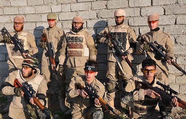 IS thành lập tiểu đoàn bắn tỉa đối chọi Mỹ - 1