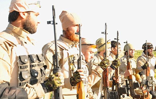 IS thành lập tiểu đoàn bắn tỉa đối chọi Mỹ - 2