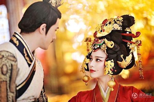 Cảnh đăng cơ Hoàng Hậu hoành tráng của Võ Mỵ Nương - 4