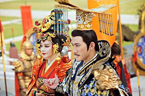 Cảnh đăng cơ Hoàng Hậu hoành tráng của Võ Mỵ Nương - 7
